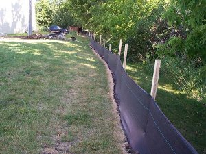 Silt Fence Fabric